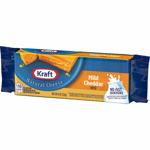 Kraft Mild Cheddar Natural Cheese Block Perspective: right