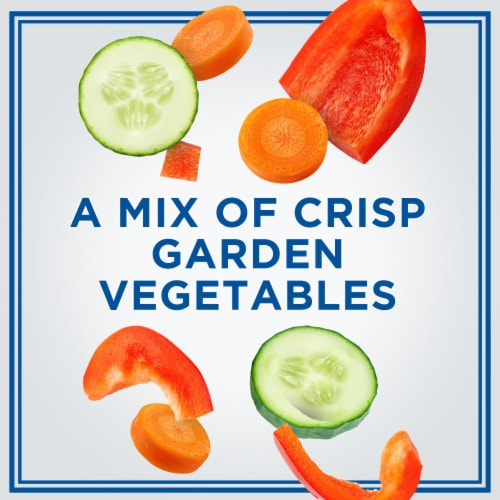 Philadelphia Garden Vegetable Cream Cheese Perspective: right
