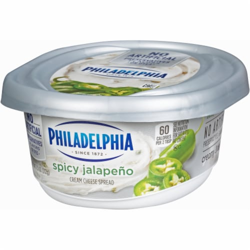 Philadelphia Jalapeno Cream Cheese Perspective: right