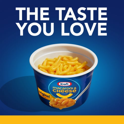 Kraft Easy Mac Original Flavor Macaroni & Cheese Cups Perspective: right
