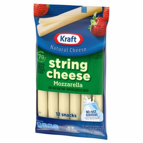 Kraft Mozzarella String Cheese Sticks Perspective: right