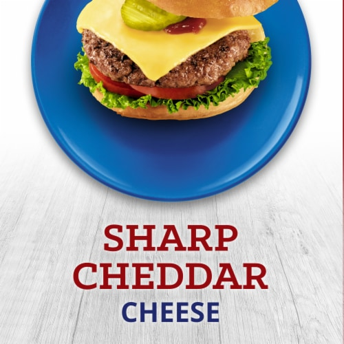 Kraft Big Slice Sharp Cheddar Cheese Perspective: right