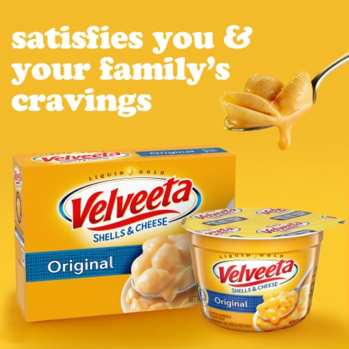 Velveeta Original Shells & Cheese Single Serve Cup Perspective: right