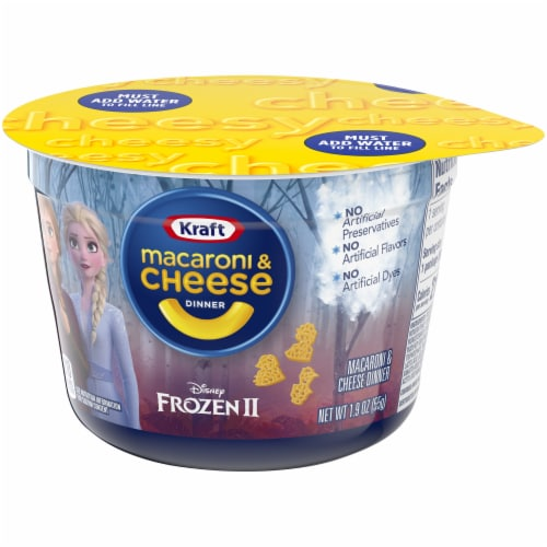 Kraft Olaf's Frozen Adventure Shapes Macaroni & Cheese Dinner Perspective: right