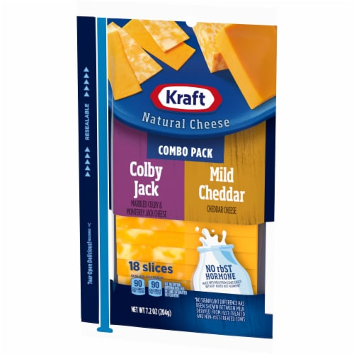 Kraft Colby Jack and Mild Cheddar Combo Pack Perspective: right