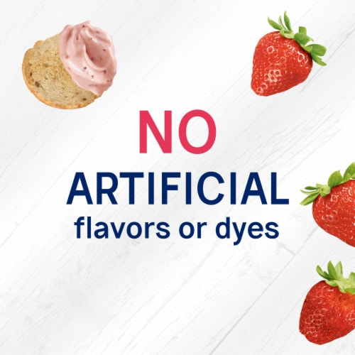 Philadelphia Bagel Chips & Strawberry Cream Cheese Dip Perspective: right