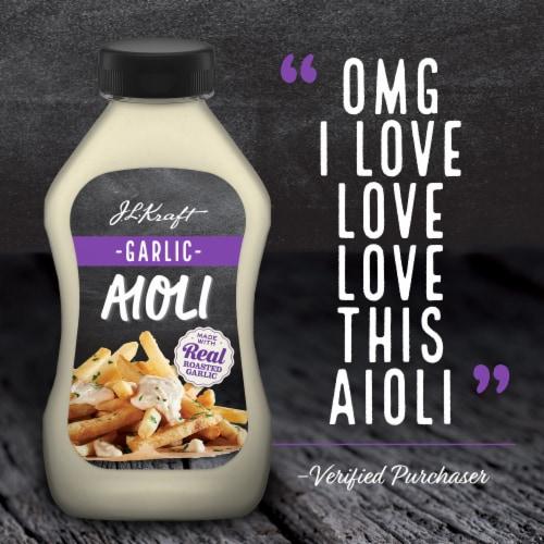 Kraft Garlic Aioli Perspective: right