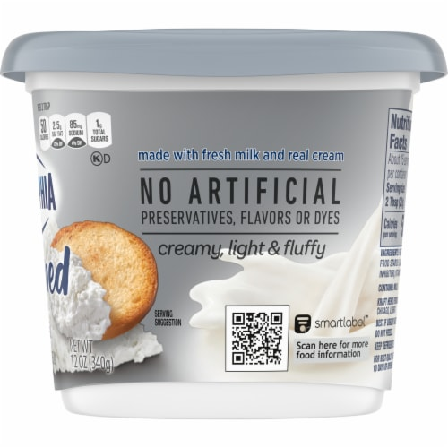 Philadelphia Original Whipped Cream Cheese Spread Perspective: right