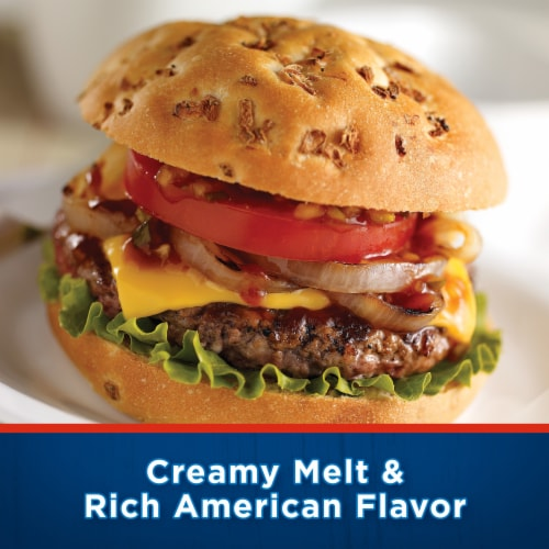 Kraft Deli Deluxe American Cheese Slices Perspective: right