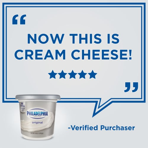 Philadelphia Original Cream Cheese Spread Perspective: right