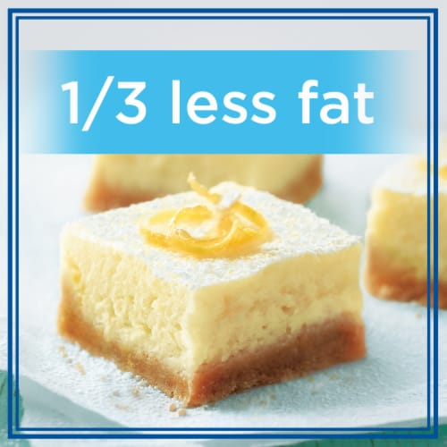 Kraft Philadelphia 1/3 Less Fat Cream Cheese Perspective: right