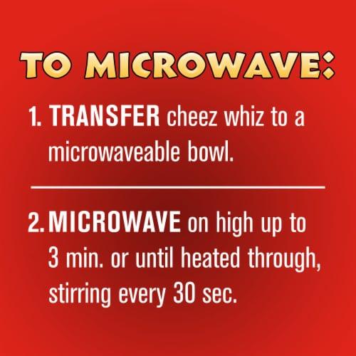 Kraft Cheez Whiz Original Cheese Dip Perspective: right