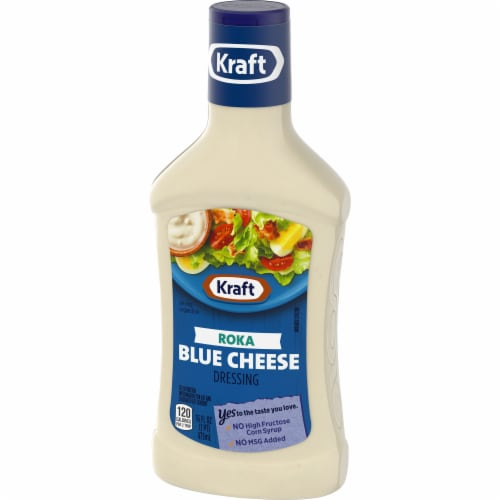 Kraft Roka Blue Cheese Dressing Perspective: right