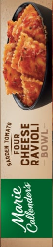 Marie Callender's Garden Tomato Four Cheese Ravioli Bowl Frozen Meal Perspective: right