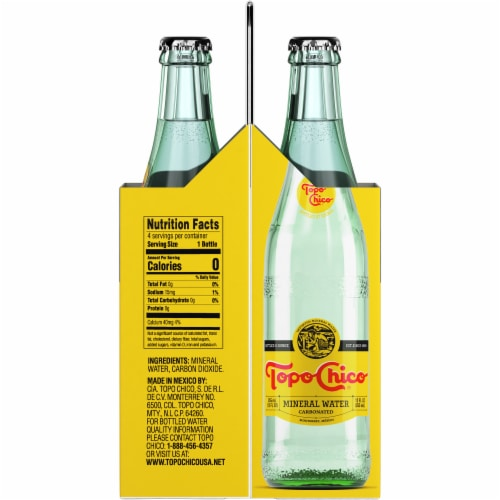 Topo Chico Mineral Water Perspective: right