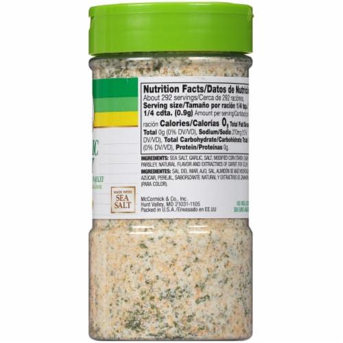 Lawry's Garlic Salt Shaker Perspective: right