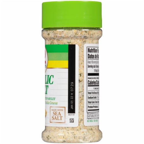 Lawry's Garlic Salt Perspective: right