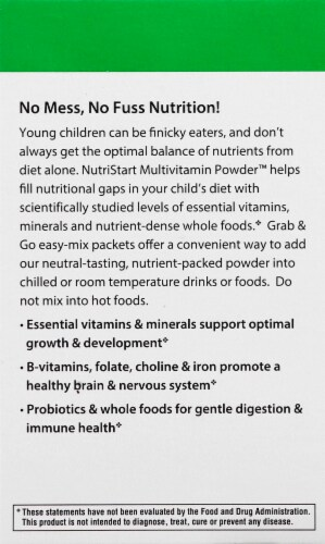Rainbow Light NutriStart Multivitamin Powder for Infants & Toddlers Perspective: right