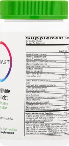 Rainbow Light Prenatal Petite Multivitamin Mini Tablets Perspective: right