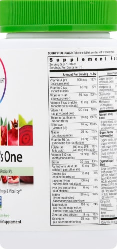 Rainbow Light Women's One Multivitamin Tablets Perspective: right