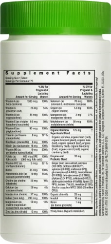 Rainbow Light Prenatal One Multi Vitamin Tablets Perspective: right