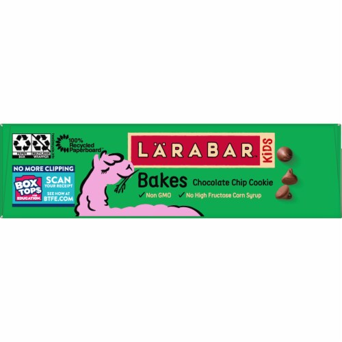 Larabar Kid Chocolate Chip Cookie Bars Perspective: right