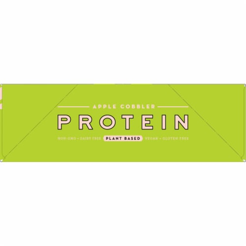 Larabar Apple Cobbler Plant Based Protein Bars Perspective: right