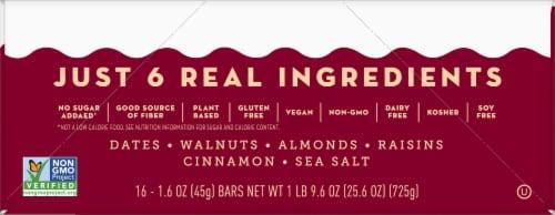 Larabar Cinnamon Roll Fruit & Nut Bars Perspective: right