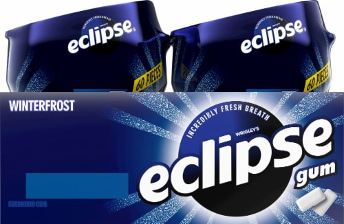 Eclipse Winterfrost Sugar Free Gum Perspective: right