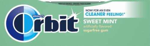 Orbit Sweet Mint Sugarfree Gum (12 Pack) Perspective: right
