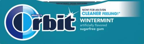 Orbit Wintermint Sugarfree Gum (12 Pack) Perspective: right