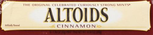 Altoids Cinnamon Breath Mints Perspective: right