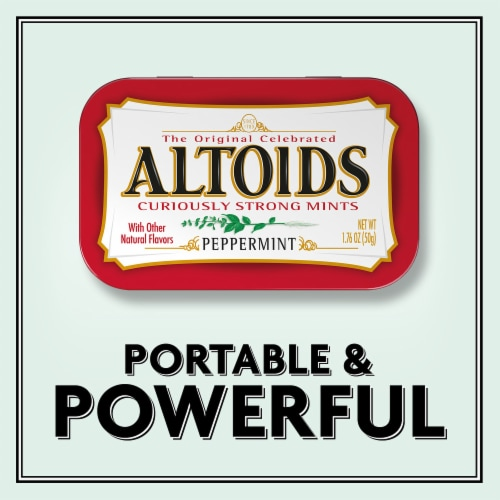 Altoids Classic Peppermint Breath Mints Perspective: right