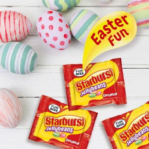 STARBURST Jelly Beans Chewy Easter Candy Fun Size Candy Bag Perspective: right