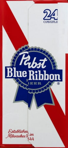 Pabst Blue Ribbon Beer Perspective: right