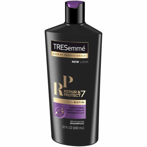 TRESemme Repair & Protect 7 with Biotin Shampoo Perspective: right