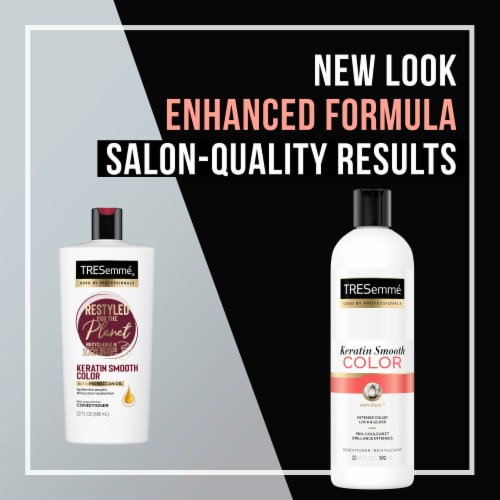 TRESemme® Keratin Smooth Conditioner for Color-Treated Hair Perspective: right