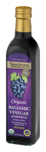 Spectrum Organic Balsamic Vinegar of Modena Perspective: right