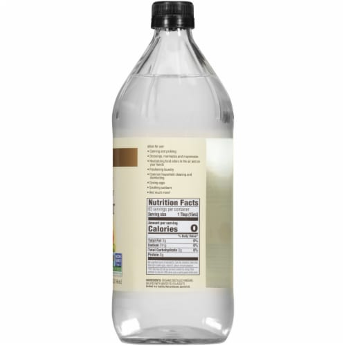 Spectrum Organic White Vinegar Perspective: right