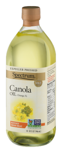 Spectrum Refined High Heat Canola Oil Perspective: right
