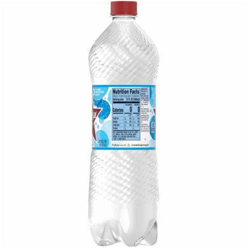 Ozarka Natural Sparkling Bottled Water Perspective: right