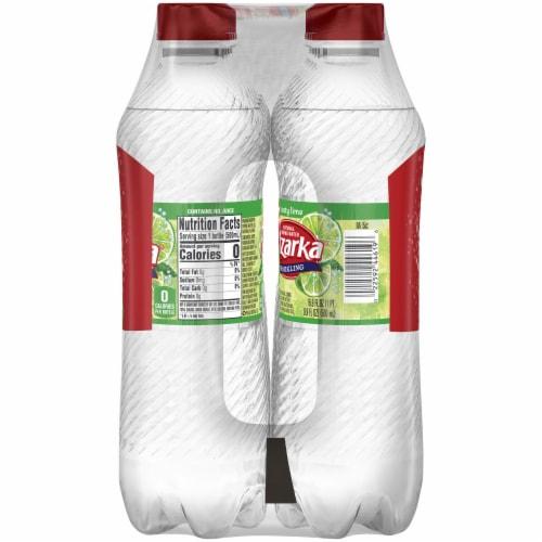 Ozarka Zesty Lime Sparkling Spring Water 8 Bottles Perspective: right
