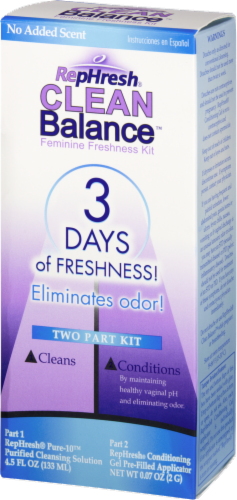 RepHresh Clean Balance Feminine Freshness 2-Step Kit Perspective: right