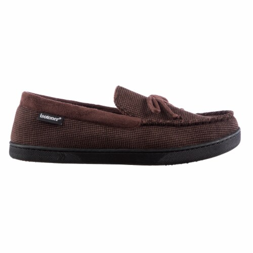Isotoner®  Mini Box Cord Luke Moccasin with Lacing Perspective: right
