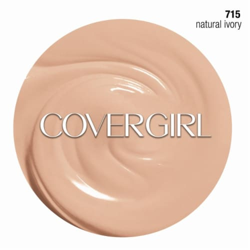 CoverGirl Aqua Smoothers Makeup Natural Ivory Foundation Perspective: right