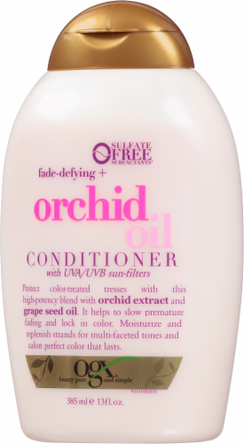 Ogx Fade Defying Orchid Oil Conditioner Perspective: right
