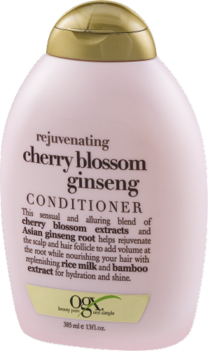 Ogx  Rejuvenating Cherry Blossom Conditioner Perspective: right