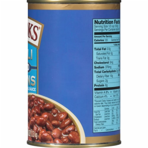 Brooks Mild Red Chili Beans Perspective: right