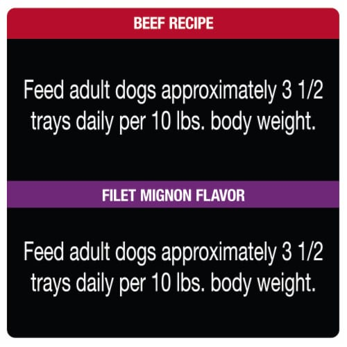 Cesar® Classic Loaf in Sauce Variety Pack Wet Dog Food Perspective: right