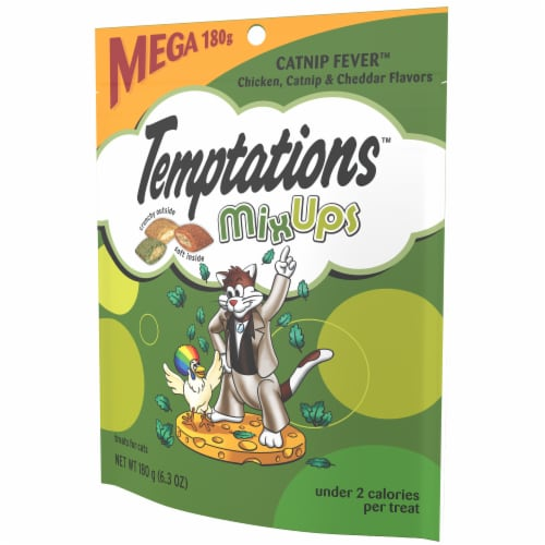 Temptations MixUps Catnip Fever Flavor Cat Treats Perspective: right